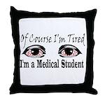 Medical Student Throw Pillow