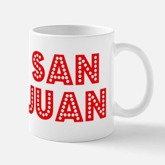 Retro San Juan (Red) Mug