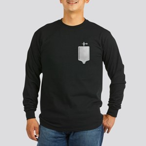 Urinal Long Sleeve Dark T-Shirt