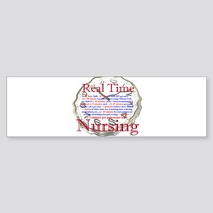 Nursing in Real Time Bumper Sticker (10 pk)