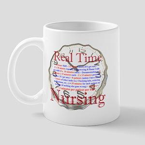 Nursing in Real Time Mug