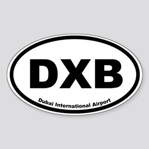 Dubai International Airport Oval Sticker