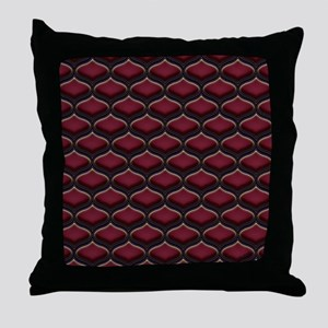 Ogee Berries Throw Pillow