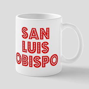 Retro San Luis Obi.. (Red) Mug