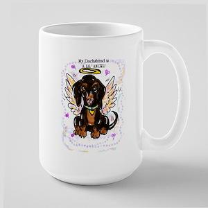 My Dachshund is a Lil' Angel! Large Mug