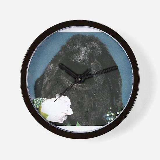 Black Velvet Wall Clock