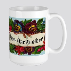 Love One Another Large Mug