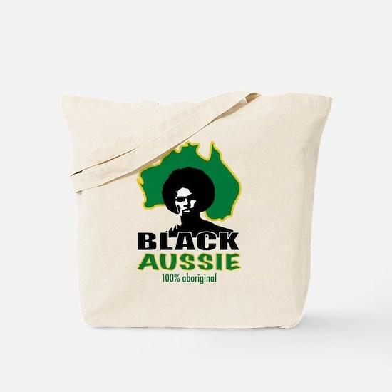 Black Aussie Tote Bag