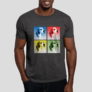 Beagle Pop Art Dark T-Shirt