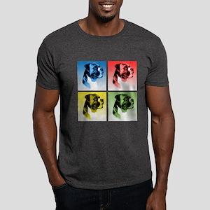 Boxer Pop Art Dark T-Shirt