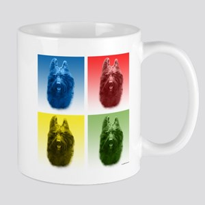 Briard Pop Art Mug