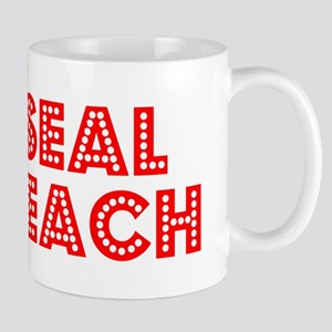 Retro Seal Beach (Red) Mug