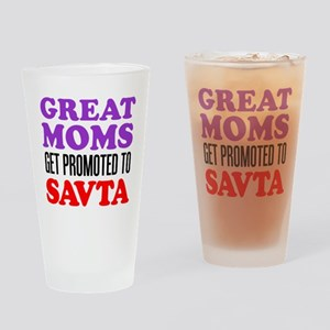 Moms Promoted To Savta Drinking Glass