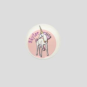 Skylar Unicorn Mini Button
