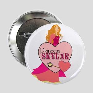 "Princess Skylar 2.25"" Button"