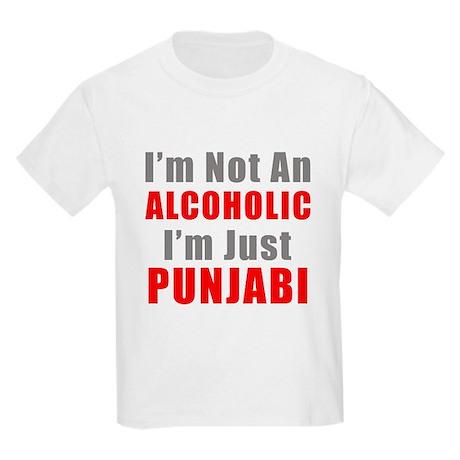 I'm not an Alcoholic Kids Light T-Shirt