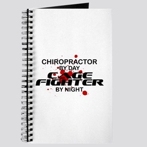 Chiropractor Cage Fighter by Night Journal