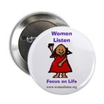 """WL (2) 2.25"""" Button (100 pack)"""