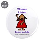 """WL (2) 3.5"""" Button (10 pack)"""