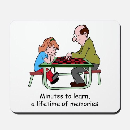Checkers Mousepad