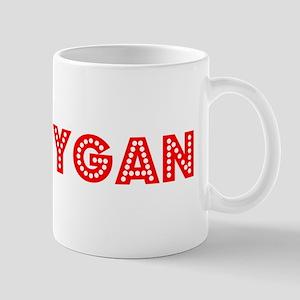 Retro Sheboygan (Red) Mug