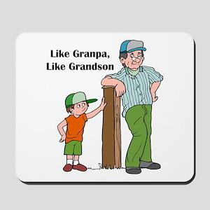 Grandpa, Grandson Mousepad
