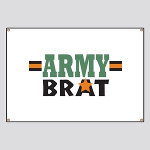 Military Army Brat Banner