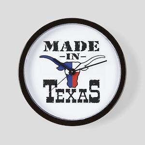 Made In Texas Wall Clock