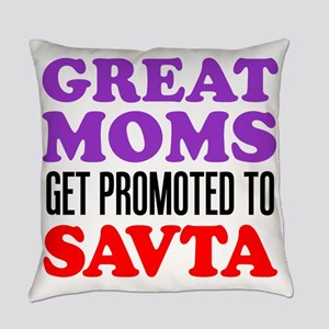Moms Promoted To Savta Everyday Pillow