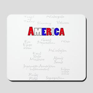 """""""America"""" Slavery, Trail of Tears, Watergate, KKK,"""