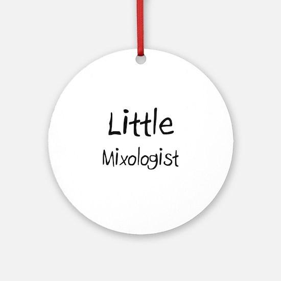 Little Mixologist Ornament (Round)