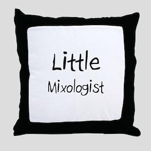 Little Mixologist Throw Pillow