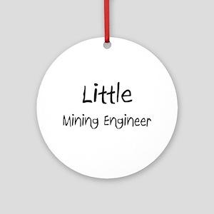 Little Mining Engineer Ornament (Round)