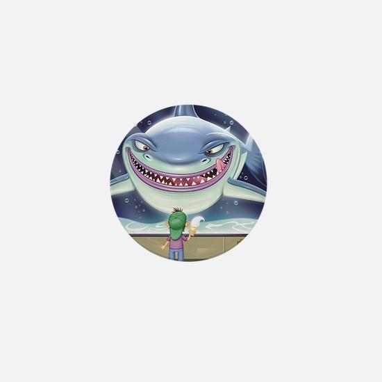 Hungry Shark Mini Button