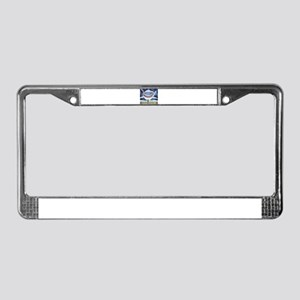 Hungry Shark License Plate Frame