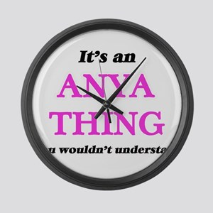 It's an Anya thing, you would Large Wall Clock