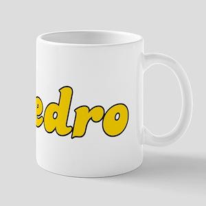 Retro Pedro (Gold) Mug