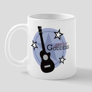 Guitar Goddess Mug
