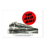 A fast freight train Postcards (Package of 8)