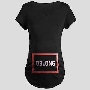 Oblong - Maternity Dark T-Shirt