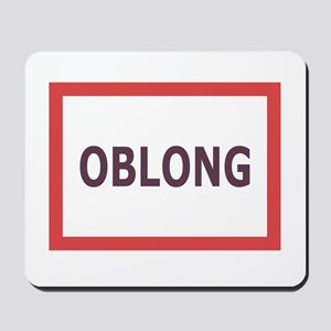 Oblong - Mousepad