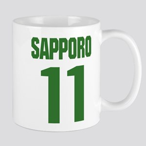 SAPPORO JAPAN NUMBER/KELLY GREEN Mug