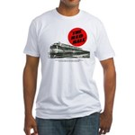 A fast freight train Fitted T-Shirt