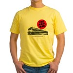 A fast freight train Yellow T-Shirt