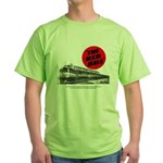 A fast freight train Green T-Shirt