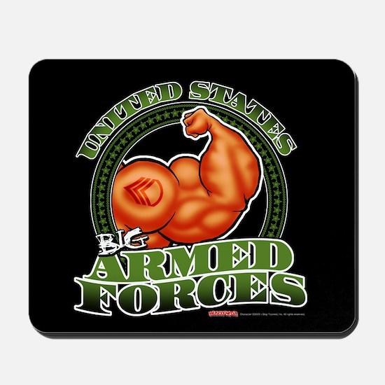 U.S. Big Armed Forces - Mousepad