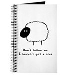 Don't Follow Me. I Haven't G Journal