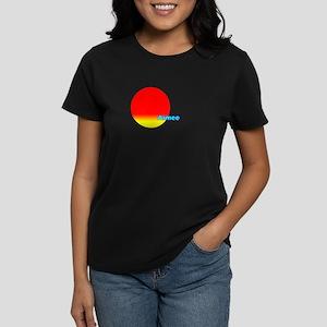 Aimee Women's Dark T-Shirt