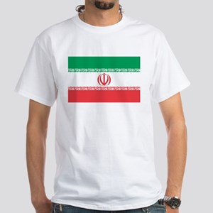 IRAN White T-Shirt