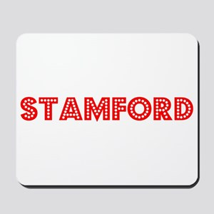 Retro Stamford (Red) Mousepad